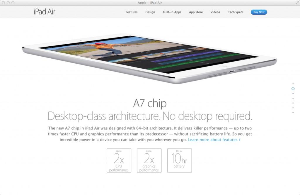 Apple社Webサイト